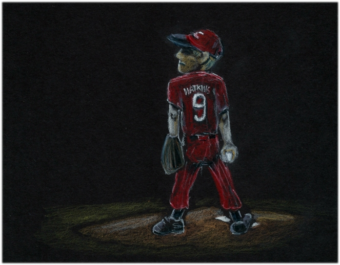 baseball pitcher no. 9