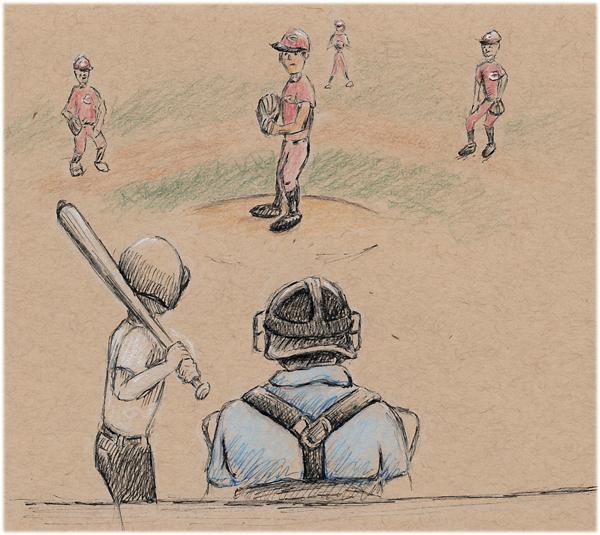 quick field sketch